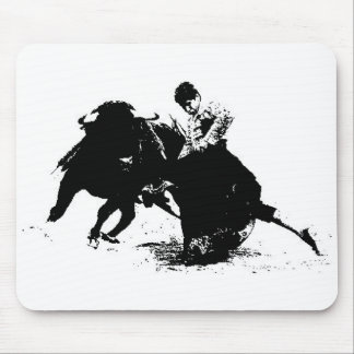 Bullfighter Mousepad