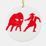 BullfighterRed Ornaments