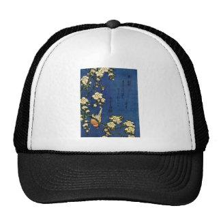 Bullfinch and Drooping Cherry Trucker Hat
