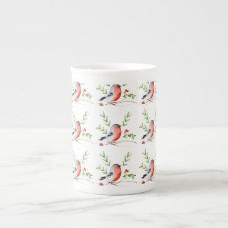 Bullfinch China Mug
