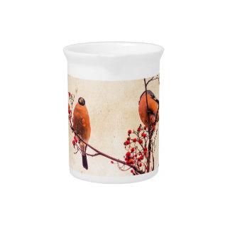 Bullfinch on Rowan Textured 3 Beverage Pitcher
