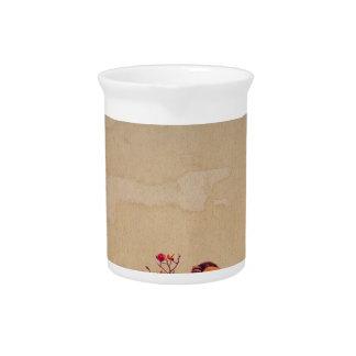 Bullfinch on Rowan Textured Drink Pitcher