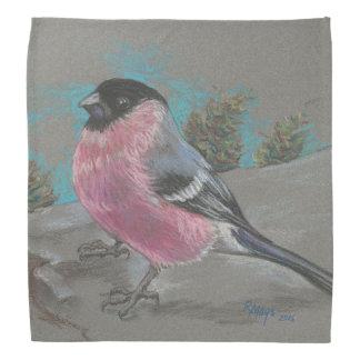 Bullfinch scarf bandana