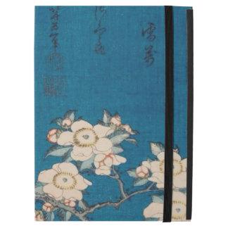 Bullfinch y cereza que llora GalleryHD de Hokusai