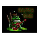 Bullfrog Blues Postcard