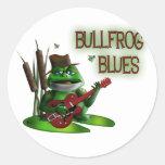 Bullfrog Blues Sticker