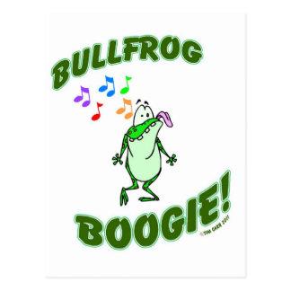 Bullfrog Boogie Postcard