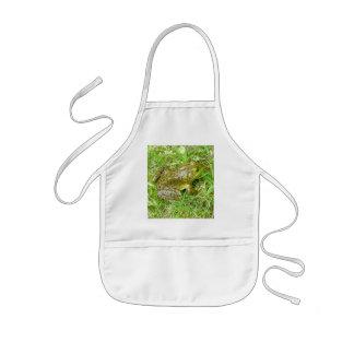 Bullfrog Child's Apron