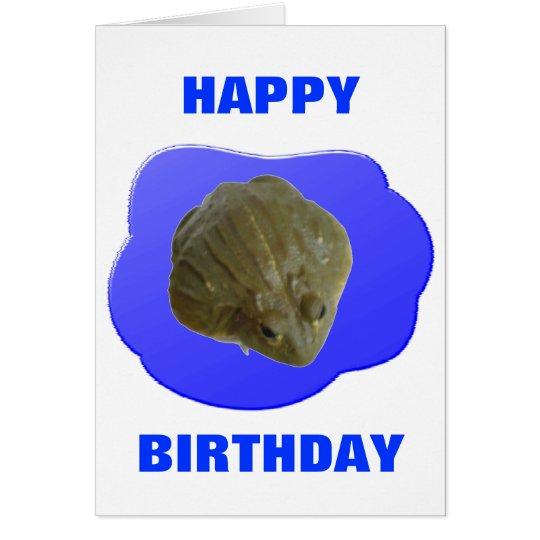 Bullfrog Customizable Birthday Card