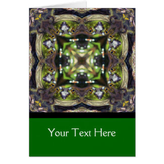 Bullfrog Kaleidoscope Nature Photo Card