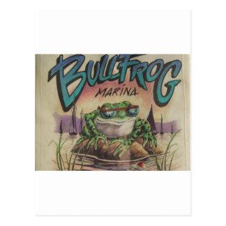 Bullfrog Marina Postcard
