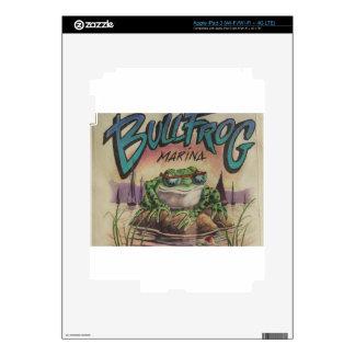 Bullfrog Marina Decals For iPad 3