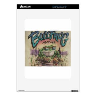 Bullfrog Marina iPad Decal