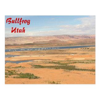 Bullfrog Marina - Utah Postcard