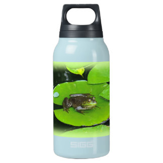 Bullfrog on Lilypads Insulated Water Bottle