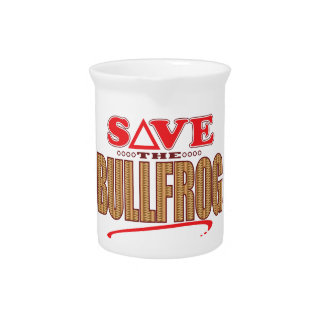 Bullfrog Save Drink Pitcher