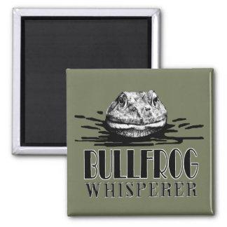 Bullfrog Whisperer 2 Inch Square Magnet