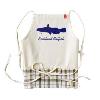 Bullhead Catfish Zazzle HEART Apron