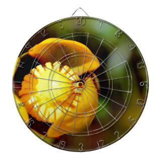 Bullhead Lily Close-up Dartboard With Darts