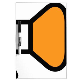 Bullhorn Announcement Icon Dry-Erase Board