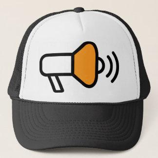 Bullhorn Announcement Icon Trucker Hat