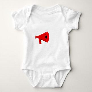 Bullhorn / Megaphone Baby Bodysuit
