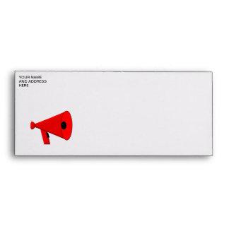 Bullhorn / Megaphone Envelope