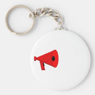 Bullhorn / Megaphone Keychain