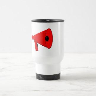 Bullhorn / Megaphone Travel Mug