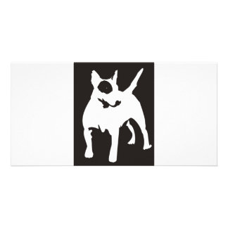 Bulli Terrier Photo Card Template