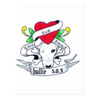 Bullie SOS Postcard