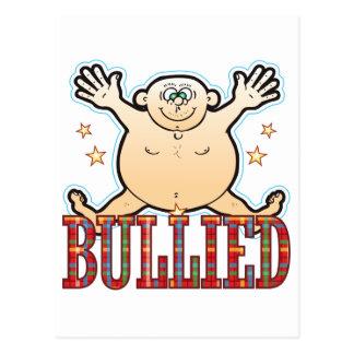 Bullied Fat Man Postcard
