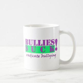 BULLIES ERADICATE CLASSIC WHITE COFFEE MUG