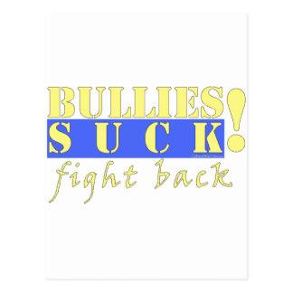 BULLIES FIGHT BACK POST CARD