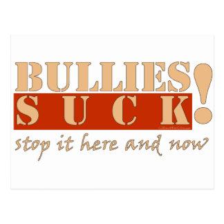 BULLIES HERE N NOW POSTCARD