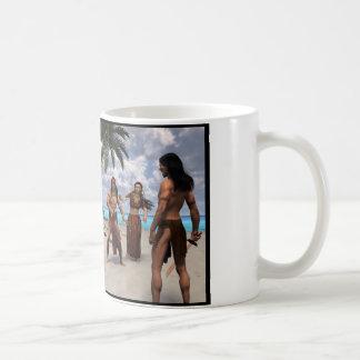 Bullies On The Beach Coffee Mug