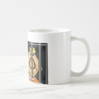 Bullies online and offline get it in the end coffee mug
