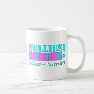 BULLIES TERRORISTS CLASSIC WHITE COFFEE MUG