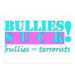 BULLIES TERRORISTS POST CARDS