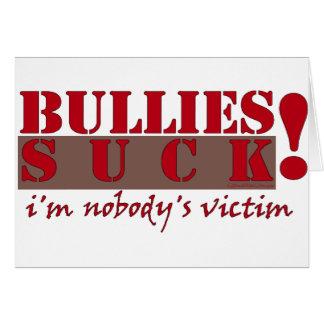 BULLIES VICTIM CARD
