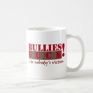 BULLIES VICTIM CLASSIC WHITE COFFEE MUG