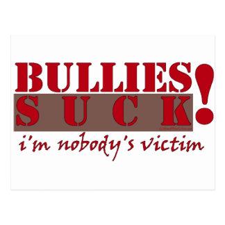 BULLIES VICTIM POSTCARD