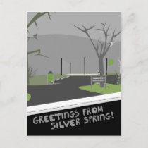Bullis Park - Greetings From Silver Spring! Postcard