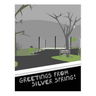 Bullis Park - Greetings From Silver Spring! Postcard