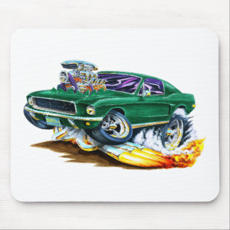 Bullitt Mustang with Big Engine Mouse Pad