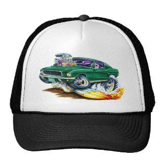 Bullitt Mustang with Big Engine Trucker Hat