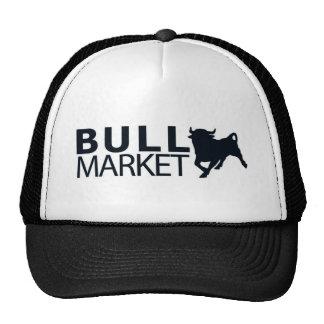 Bullmarket B & W Trucker Hat