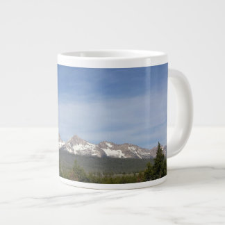 "BullmasterGardian ""Sawtooth Mountains"" Large Coffee Mug"