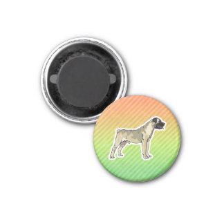 Bullmastiff 1 Inch Round Magnet