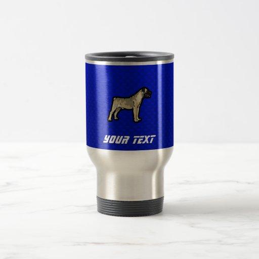 Bullmastiff; Azul Tazas
